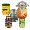 Reutter Porcelain Canned Goods and Preserves