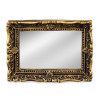 Reutter Porcelain Ornate Framed Mirror