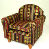 Reutter Comfy Upholstered Arm Chair