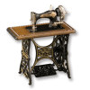 Reutter Porcelain Treadle Sewing Machine