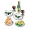 Reutter Porcelain Wine and Cheese Set