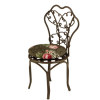 Reutter Porcelain Cushioned Metal Garden Chair