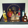 Reutter Porcelain Liquor and Tantalus Set