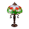 Reutter Porcelain Rose Shade Table Lamp