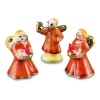 Porcelain Christmas Angel Figurines