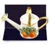 Reutter Porcelain Peaches Watering Can