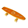Working Golden Skateboard