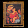 Framed Renaissance Madonna Mother and Child Picture