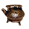 Antiqued Copper Teapot