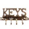Metal Wall Key Holder with Hooks
