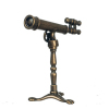 Antique Telescope on Stand