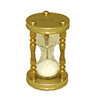 Miniature Working Brass Hourglass