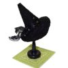 Black Witch Hat on Stand