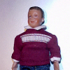 Andy Diaz Hand Painted Poseable Hispanic Dollhouse Doll