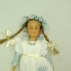 Kristen Peterson Hand Painted Poseable Dollhouse Girl Doll