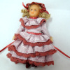 Anna Clark - Victorian Girl Hand Painted Poseable Doll