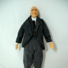 Victorian Grandpa Louis Hand Painted Poseable Doll