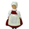 Mary Ann Phelps Hand Painted Poseable Colonial Dollhouse Doll
