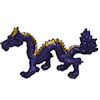 Purple and Gold Chinese Dragon