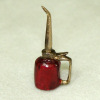 Sir Thomas Thumb Handcrafted Metal Oil Can - Red