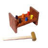 Sir Thomas Thumb Hammer and Peg Toy
