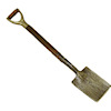 Sir Thomas Thumb Handcrafted Garden Nursery Spade Shovel