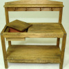 Sir Thomas Thumb Handcrafted Rustic Potting Station Workbench