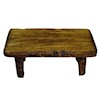Sir Thomas Thumb Handcrafted Rustic Wood Bench