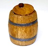 Sir Thomas Thumb Handcrafted Small Opening Wood Keg or Barrel