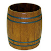 Sir Thomas Thumb Handcrafted Apple or Rain Barrel