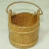 Sir Thomas Thumb Hand Crafted Wooden Water Bucket