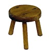 Sir Thomas Thumb Handcrafted Wood Milking Stool