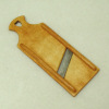 Sir Thomas Thumb Handcrafted Wood and Metal Slaw Cutter