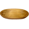 Sir Thomas Thumb Oval Wood Trencher Dough Bowl
