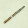 Sir Thomas Thumb Handcrafted Wood and Metal Wood Rasp