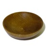Sir Thomas Thumb Carved Large Wood Butter Making Bowl