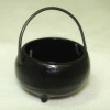 Sir Thomas Thumb Handcrafted Metal Witch's Cauldron