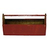 Sir Thomas Thumb Handcrafted Red Wood Tool Tote Box