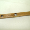 Sir Thomas Thumb Handcrafted Wood and Glass Carpenter's Level