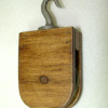 Sir Thomas Thumb Handcrafted Working Block and Tackle