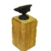 Sir Thomas Thumb Metal Anvil On Wood Beam