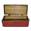 Sir Thomas Thumb Handcrafted Red Wood Carpenters Tool Box