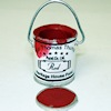 Sir Thomas Thumb Handcrafted Filled Red Paint Can