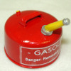 Sir Thomas Thumb Hand Crafted Red Metal Gas Can