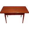 Sir Thomas Thumb Handcrafted Rustic Red Kitchen Table