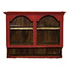 Sir Thomas Thumb Red Hanging Country Cupboard
