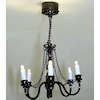Candle Chandelier Battery Operated Lighting