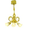 Battery Operated Working Six Arm Tulip Shade Chandelier