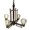 Battery Operated Contemporary Four Light Chandelier