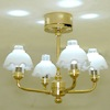 Four Arm Working Hanging Lamp - Battery Operated